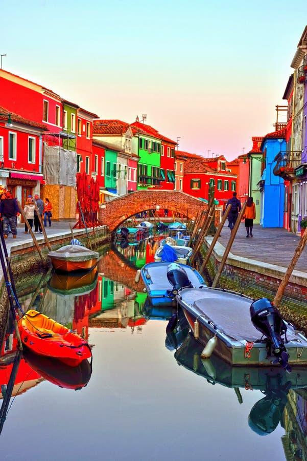Burano, Veneti?, Itali? royalty-vrije stock fotografie