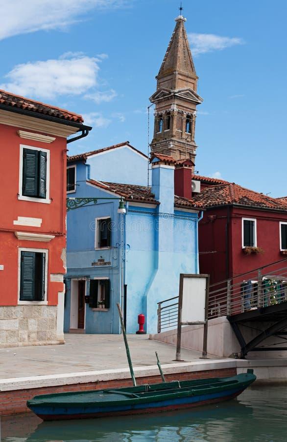 Burano, Veneza foto de stock