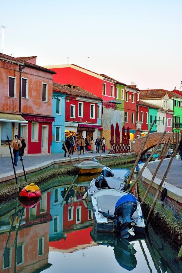 Burano, Venise, Italie photo libre de droits