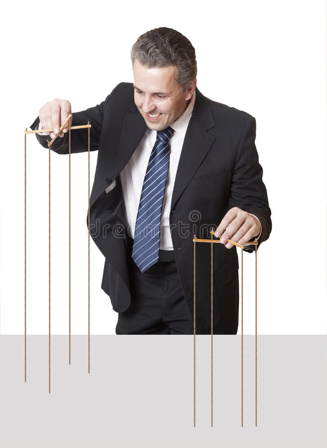 Burattinaio immagine stock libera da diritti