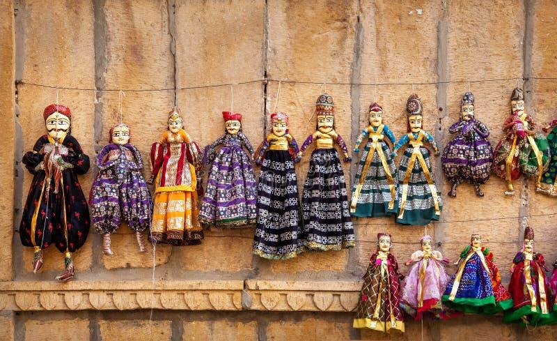 Burattini del Ragiastan fotografia stock libera da diritti