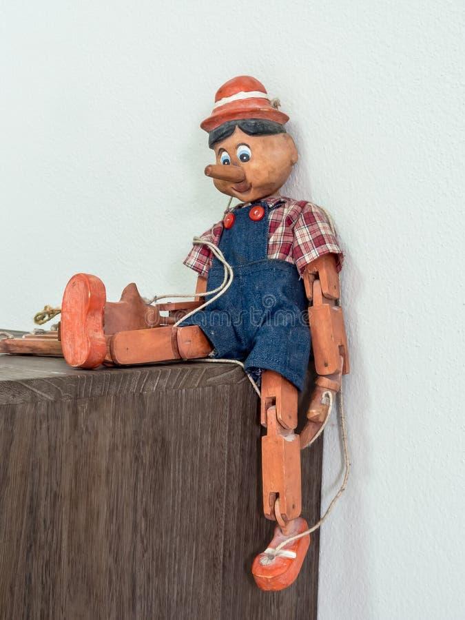 Burattino di Pinocchio immagine stock