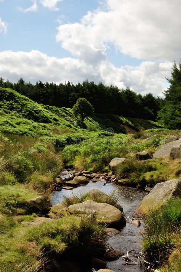 Free Burbage Valley Royalty Free Stock Photo - 54444565