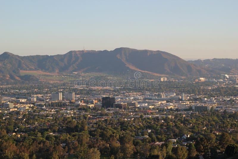 Burbank-Glendale Kalifornien lizenzfreies stockbild