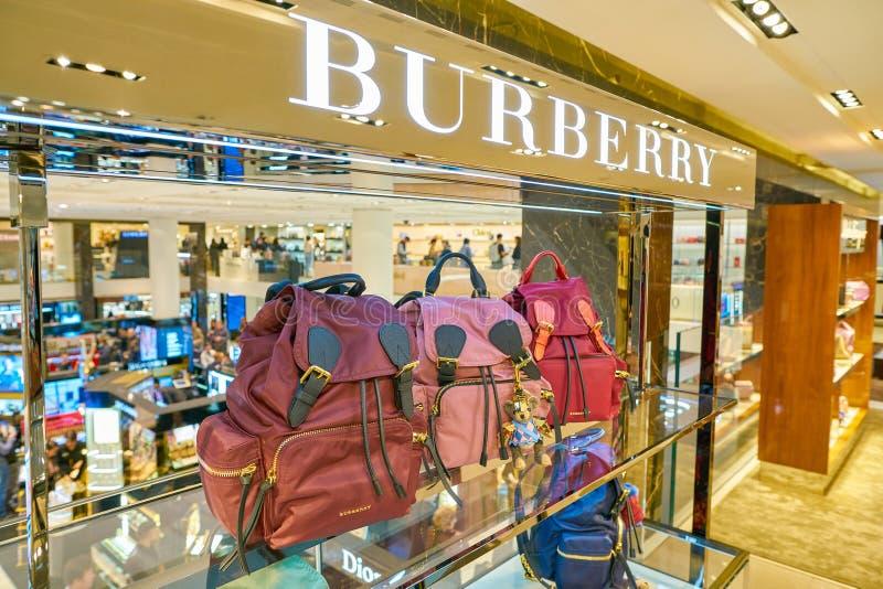 BURBERRY image stock