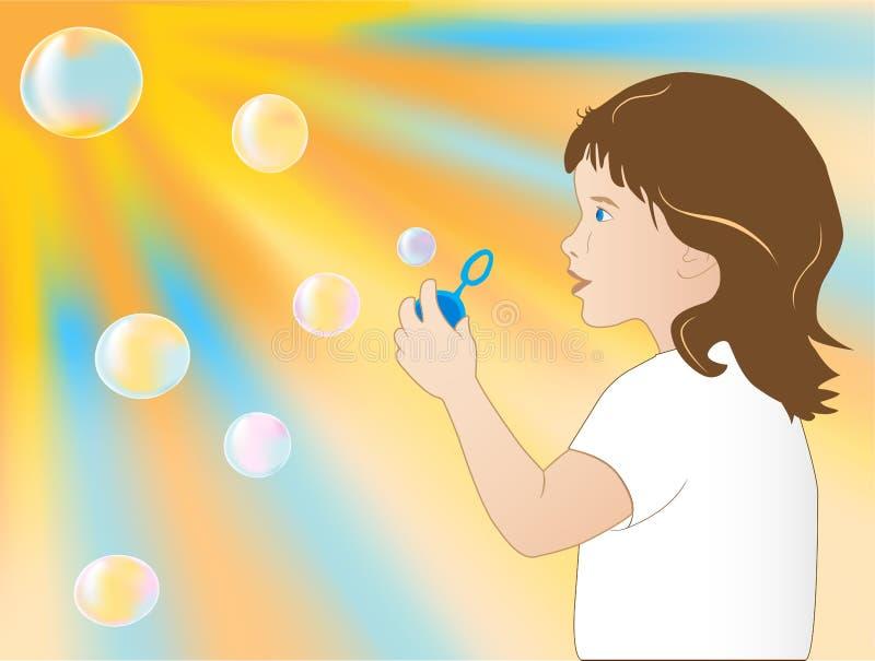 Burbuja stock de ilustración