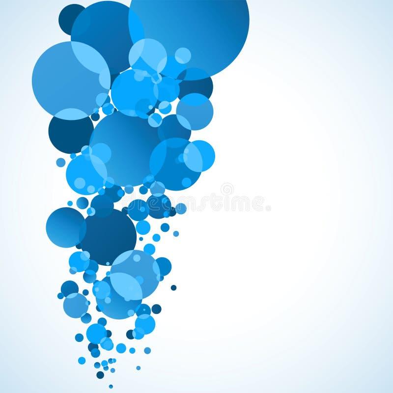 Burbuja abstracta del agua. EPS 8 ilustración del vector