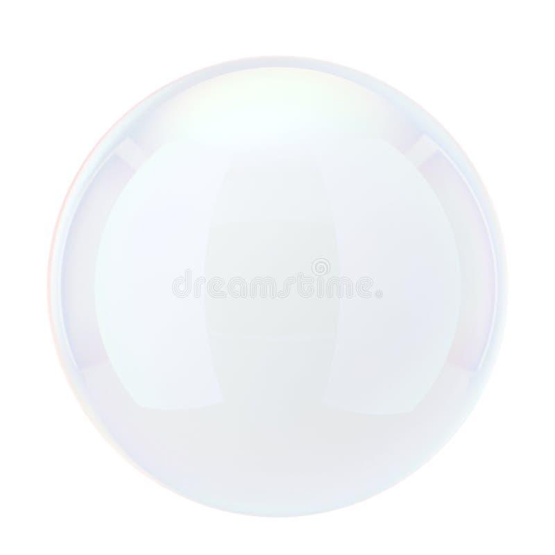 Burbuja de jabón ilustración del vector