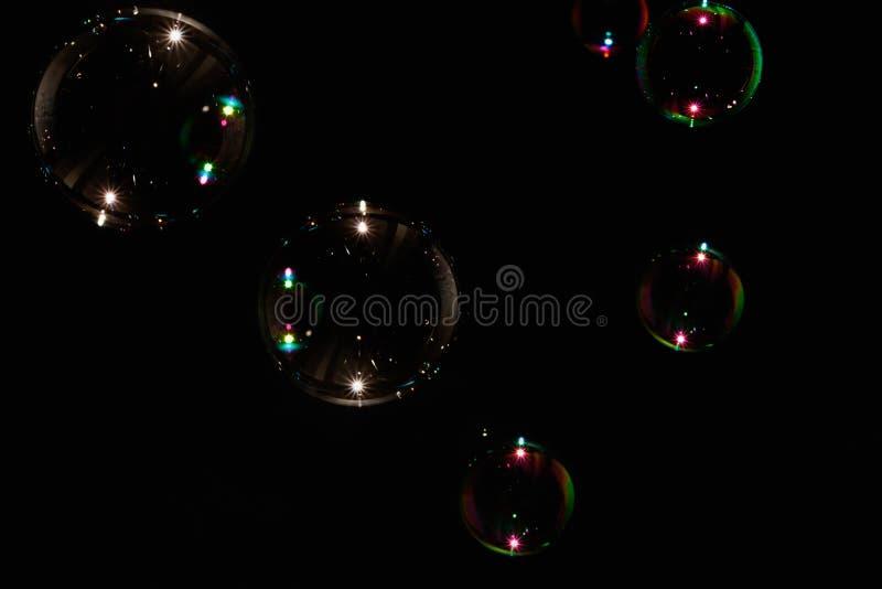 Burbuja de jabón colorida imagenes de archivo