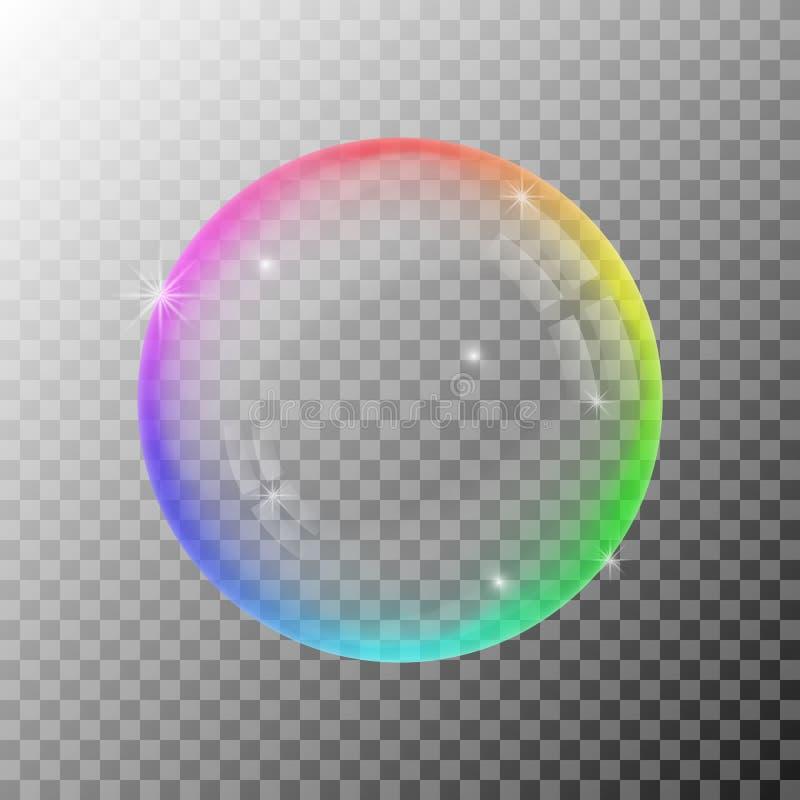 Burbuja de jab?n colorida libre illustration