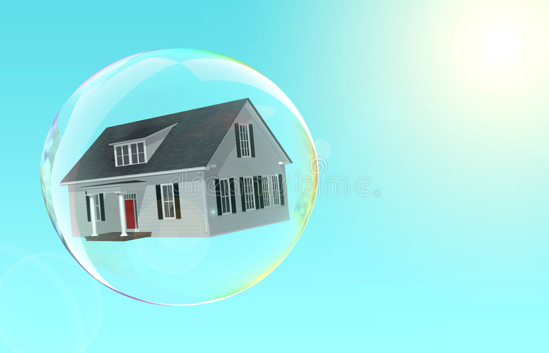 Burbuja de la cubierta ilustración del vector