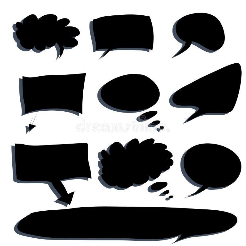 Burbuja de la palabra stock de ilustración