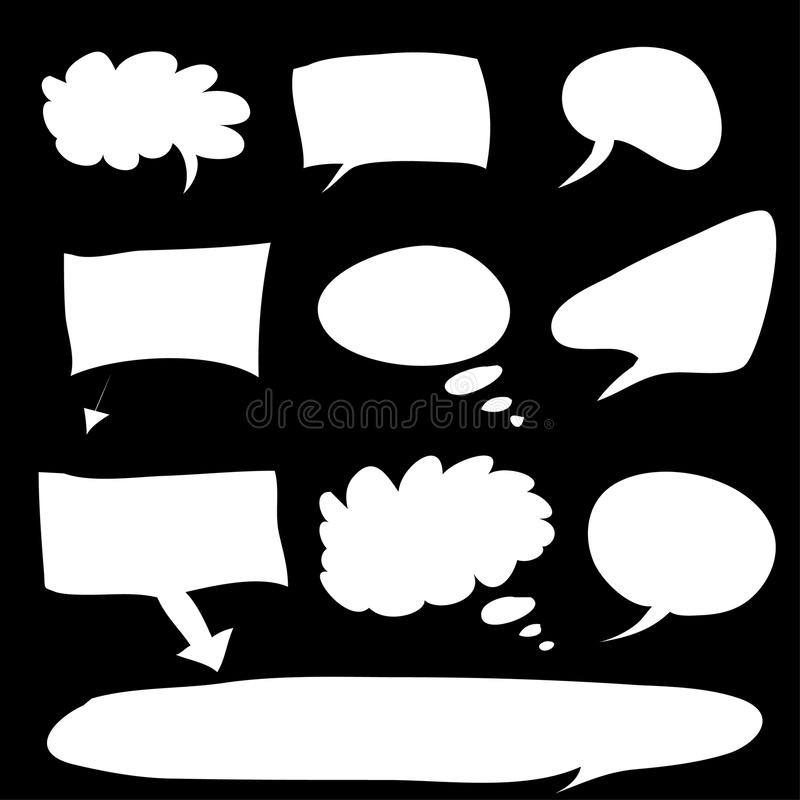 Burbuja de la palabra libre illustration