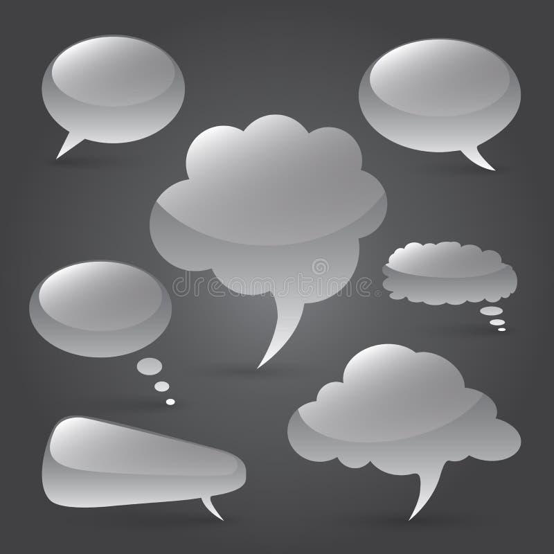 Burbuja del discurso libre illustration