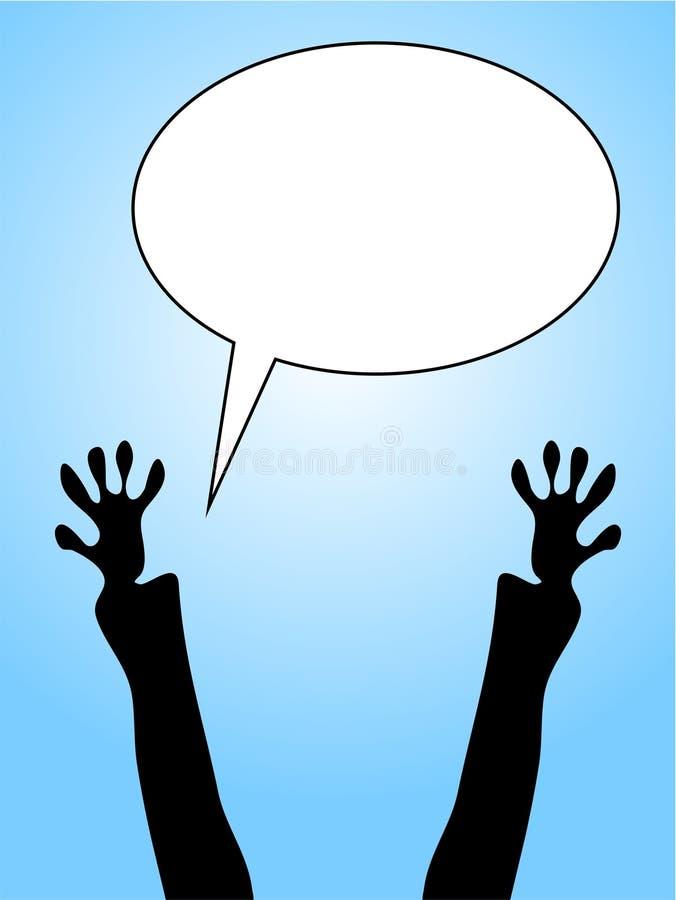 Burbuja del mensaje libre illustration