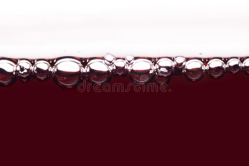 Burbuja del vino foto de archivo libre de regalías