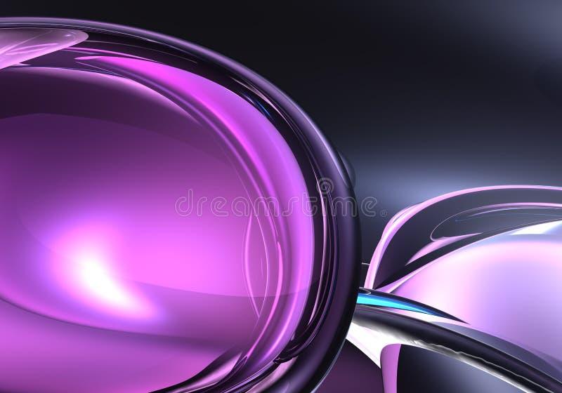 Burbujas 01 de Violette stock de ilustración