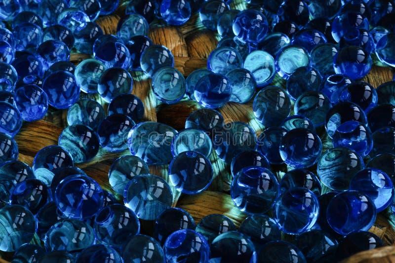 Burbujas azules imagen de archivo libre de regalías