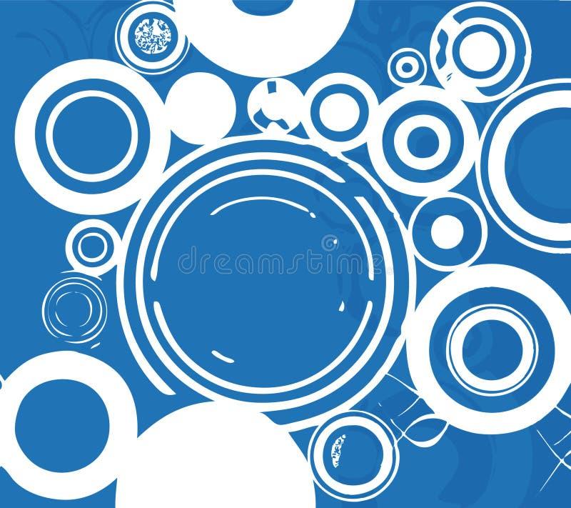Burbujas blancas stock de ilustración