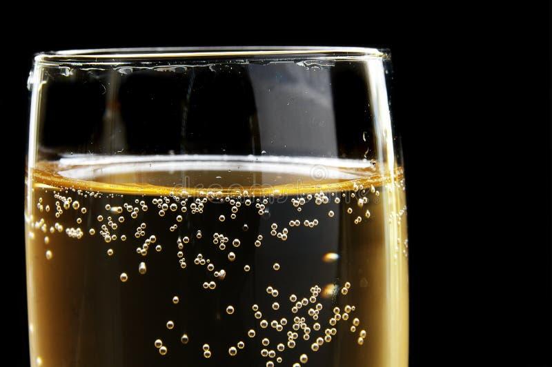 Burbujas de Champán foto de archivo libre de regalías