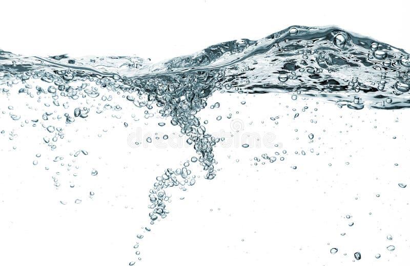 Burbujas del agua fotos de archivo libres de regalías