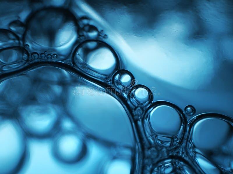 Burbujas del agua imagen de archivo