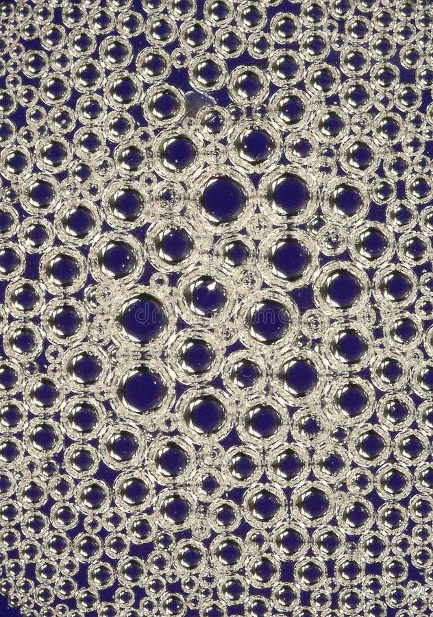 Burbujas del líquido del lavaplatos imagen de archivo