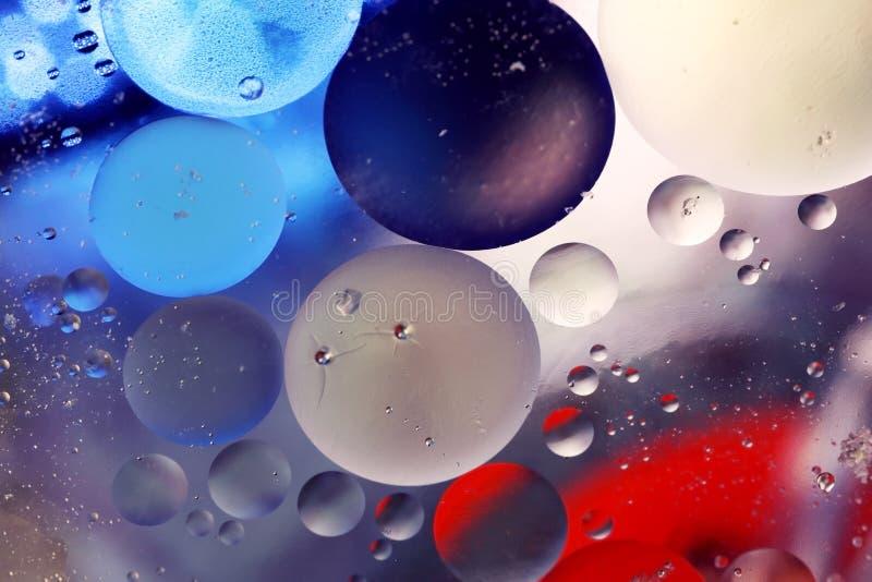 Burbujas en agua fotos de archivo libres de regalías