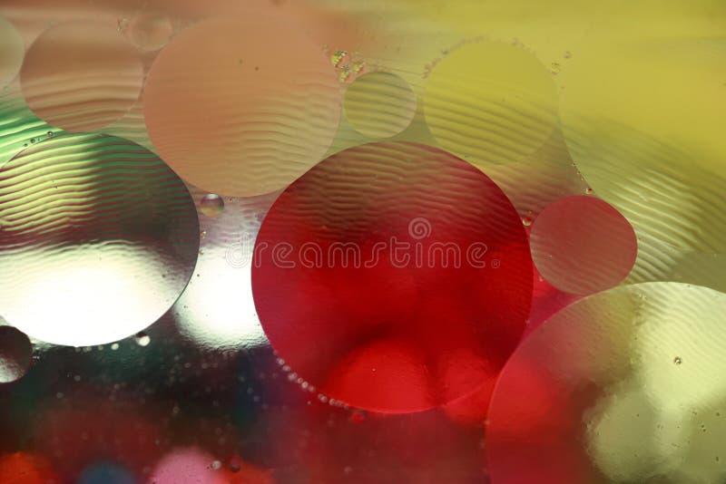 Burbujas en agua foto de archivo libre de regalías