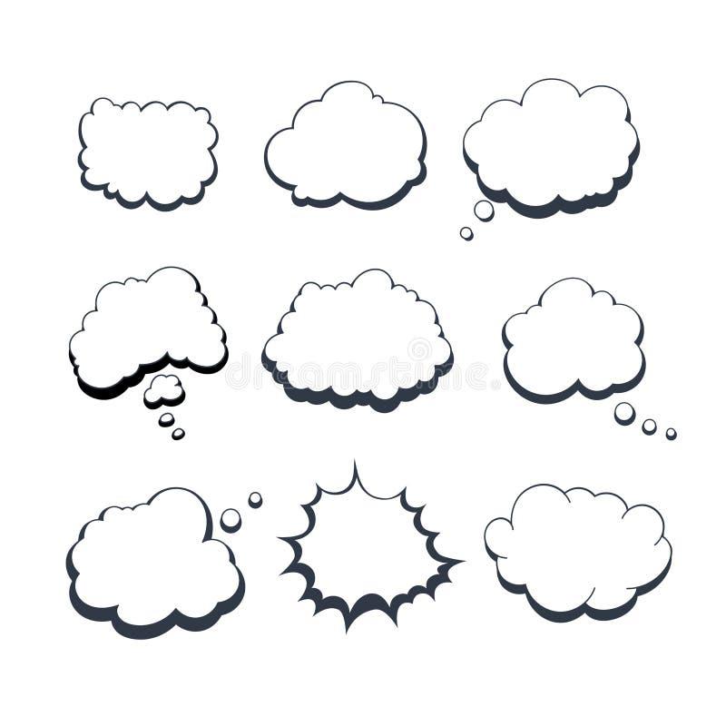 Burbujas ideales cómicas libre illustration