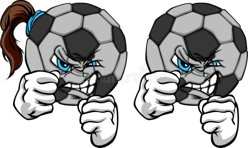 Burburinho da esfera de futebol