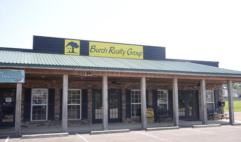 Burch不动产小组,埃尔南多, MS 库存图片