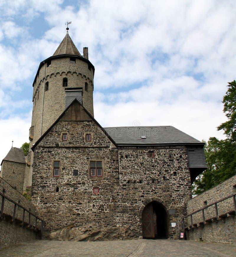 Burch Altena germany royaltyfri bild