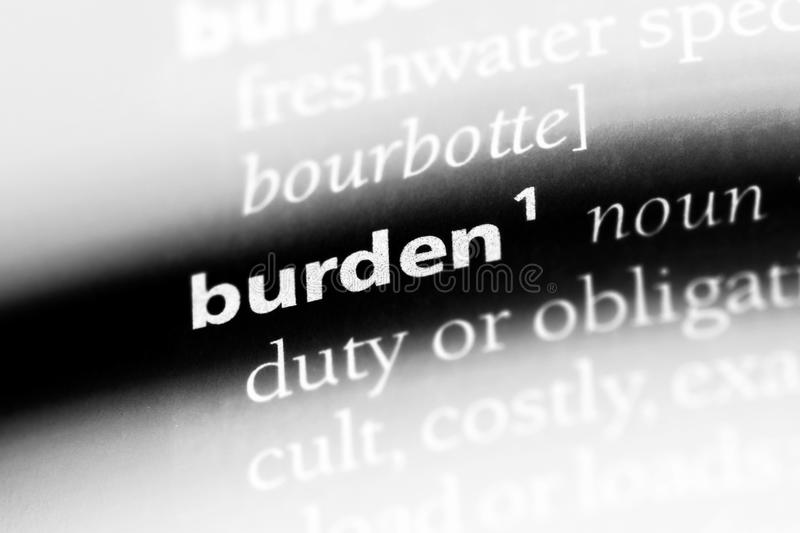 burden foto de stock royalty free