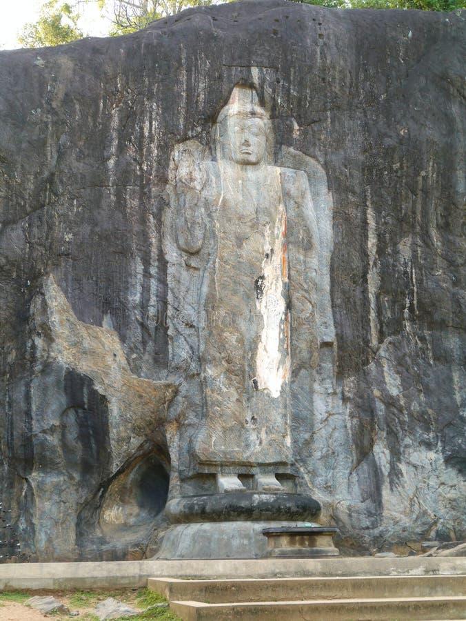 Burduruwagale em Sri Lanka imagem de stock royalty free