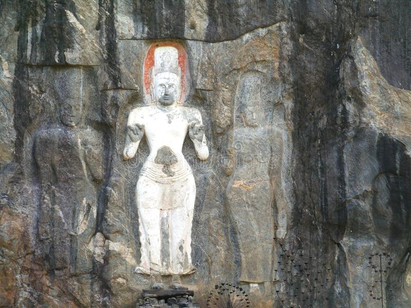 Burduruwagale i Sri Lanka royaltyfri foto