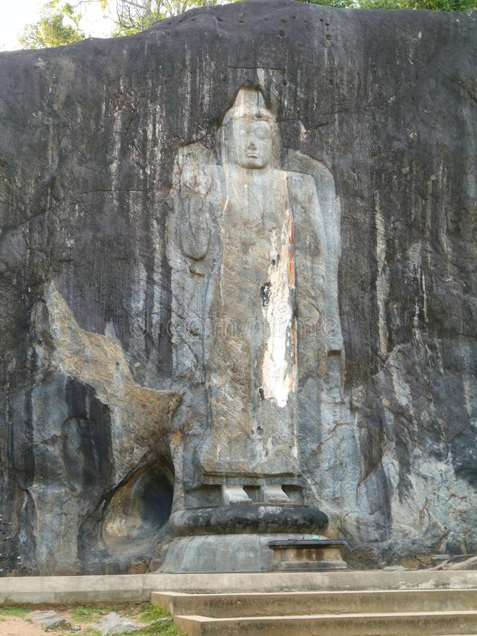 Burduruwagale i Sri Lanka royaltyfri bild