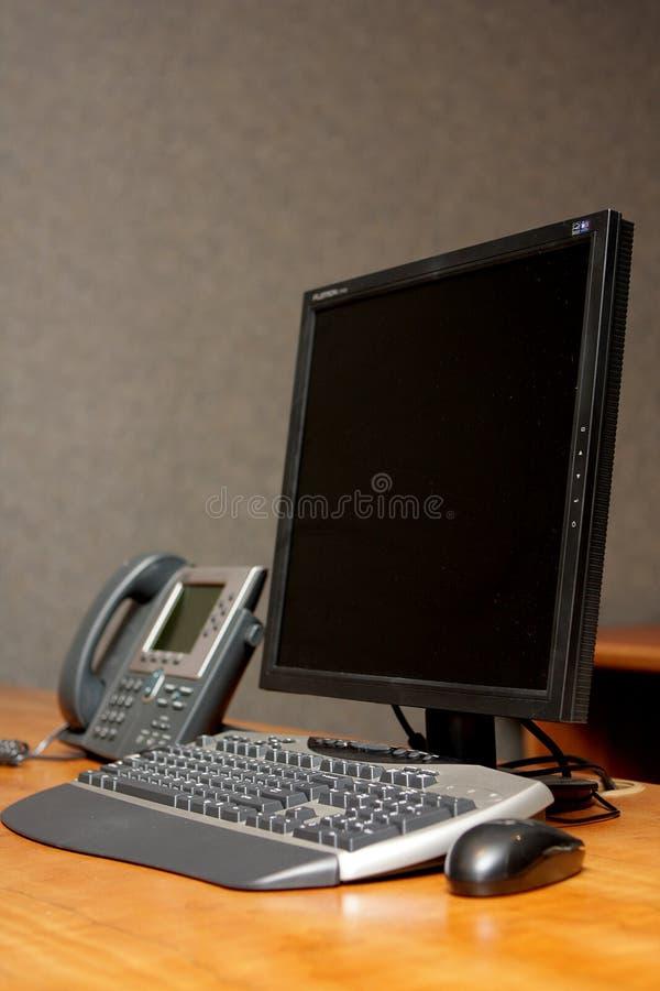 Bureau d'ordinateur image libre de droits