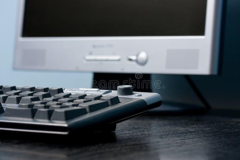 Bureau de clavier photo libre de droits