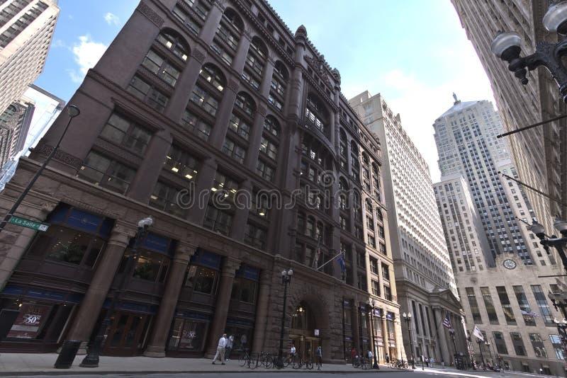 Bureau de commerce de Chicago photographie stock libre de droits