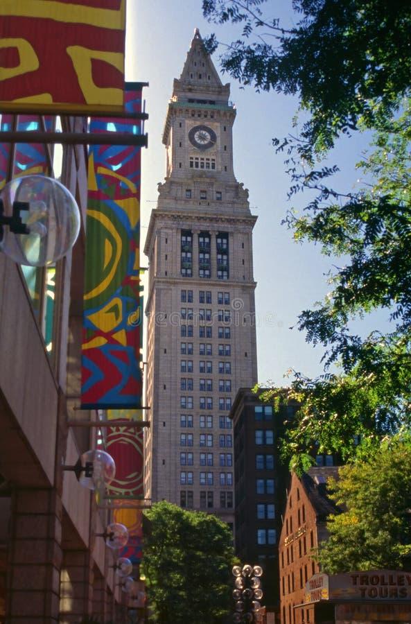 Bureau de douane, Boston, le Massachusetts image libre de droits