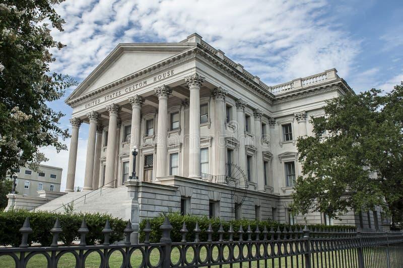 Bureau de douane - Charleston, Sc images libres de droits
