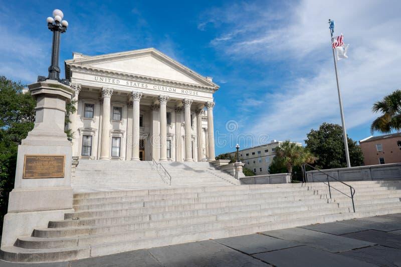 Bureau de douane des Etats-Unis à Charleston, Sc photo stock