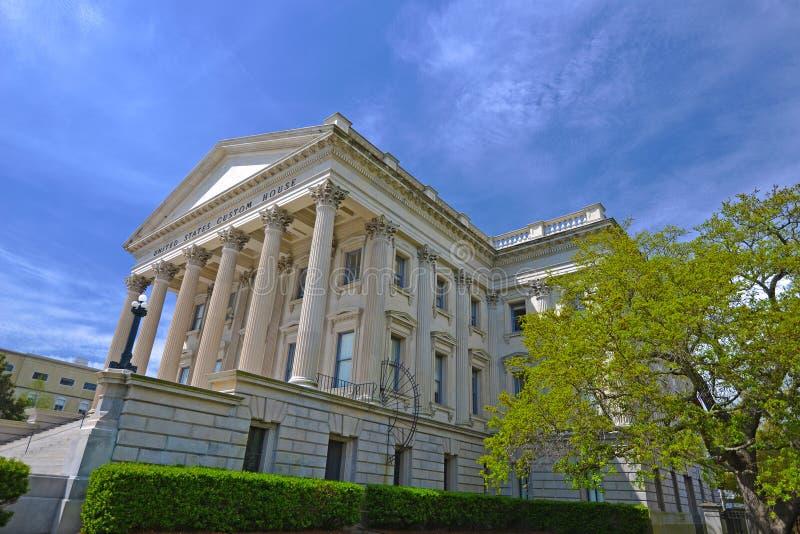 Bureau de douane des Etats-Unis photographie stock