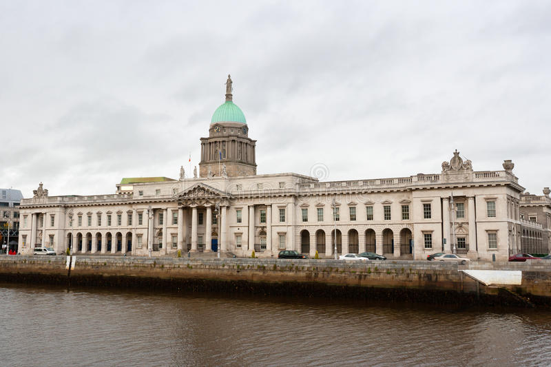 Bureau de douane. Dublin, Irlande photos libres de droits