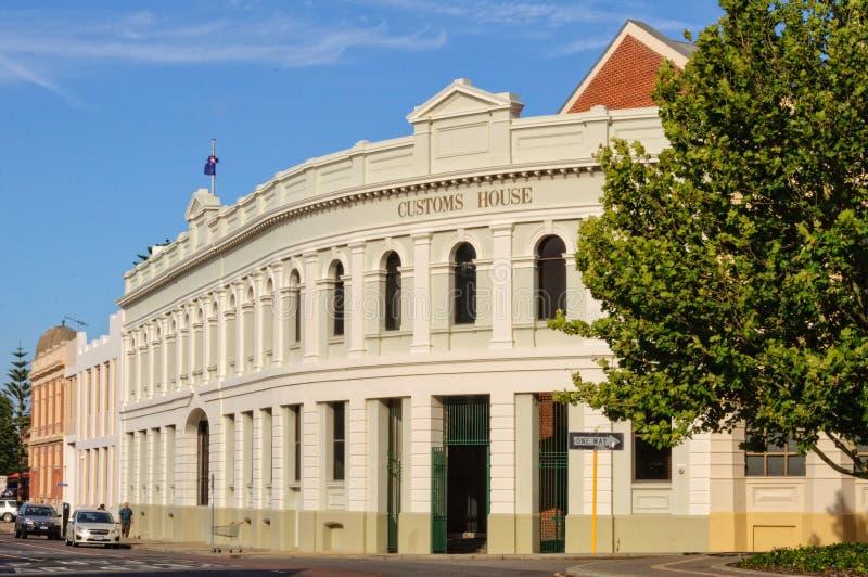 Bureau de douane - Fremantle photographie stock libre de droits