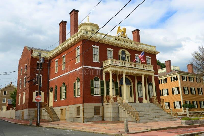 Bureau de douane, Salem, le Massachusetts photographie stock libre de droits