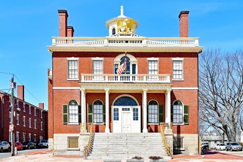 Bureau de douane Salem Maritime National Historic Site photo stock