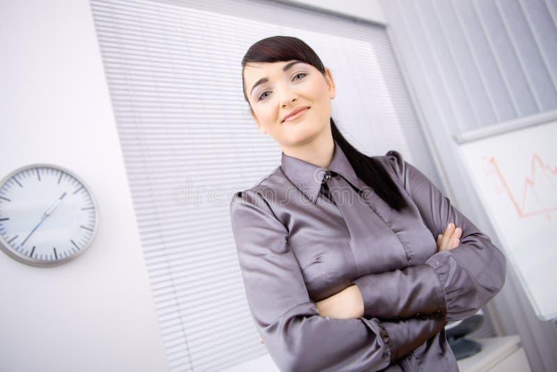 bureau de femme d'affaires photographie stock