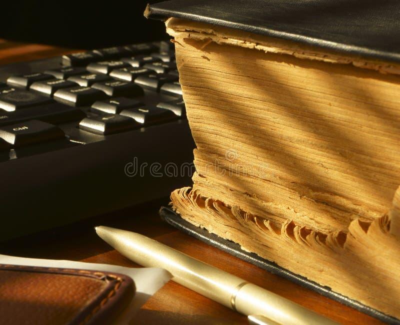 De folder van het bureau. royalty-vrije stock fotografie